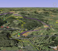 Google Earth 3D map Bauler Berg