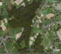 Google Earth 3D map Bosberg title=