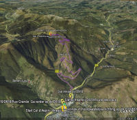 Col de lAspin sur Google Earth