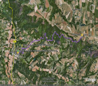 Google Earth 3D map cot de lunel title=