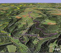 Google Earth 3D map Dahner Hoehe