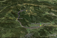 Dlouhe Strane sur Google Earth