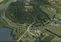 Google Earth 3D map Grebbeberg