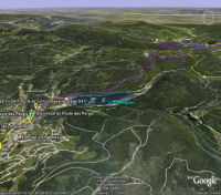 Google Earth 3D map Hohneck