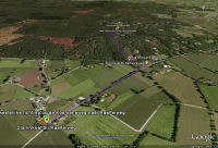 Google Earth 3D map Holterberg-West