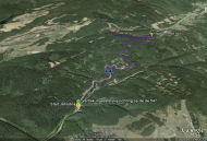 Google Earth 3D map Jahodna