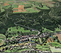 Google Earth 3D map Keltenhoehe