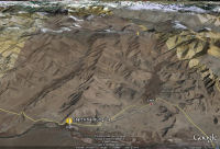 Google Earth 3D map Khardung La