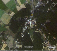 Google Earth 3D map Kluisberg - Mont de lEnclus title=