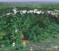 Google Earth 3D map Koralpen - Grosser Speikkogel