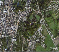 Google Earth 3D map Kapelmuur title=
