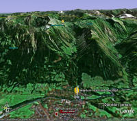 Google Earth 3D map Nebelhorn