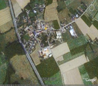 Google Earth 3D map Oude Kwaremont