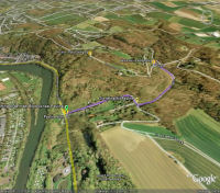 Google Earth 3D map Pauline