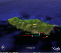 Google Earth 3D map Pico Ariero