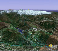 Pico de Veleta sur Google Earth