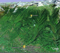 Prato Maslino sur Google Earth
