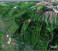 Google Earth 3D map Rionda