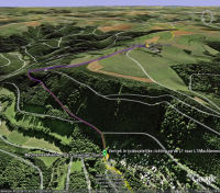 Google Earth 3D map Seveniger Hoehe
