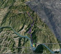 Google Earth 3D map Valeira