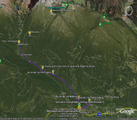 Google Earth 3D map Weisssee