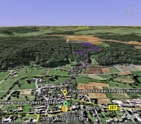Google Earth 3D map Wolsfelderberg