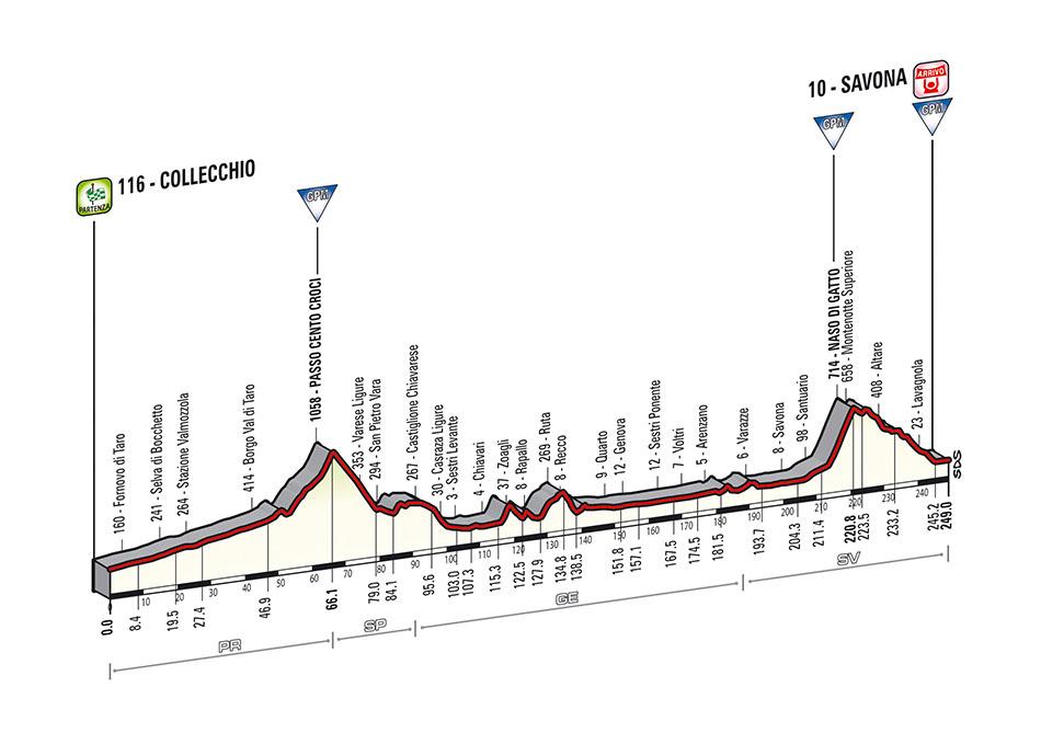 profile Collecchio - Savona
