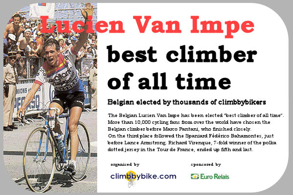 Lucien Van Impe best climber of all time