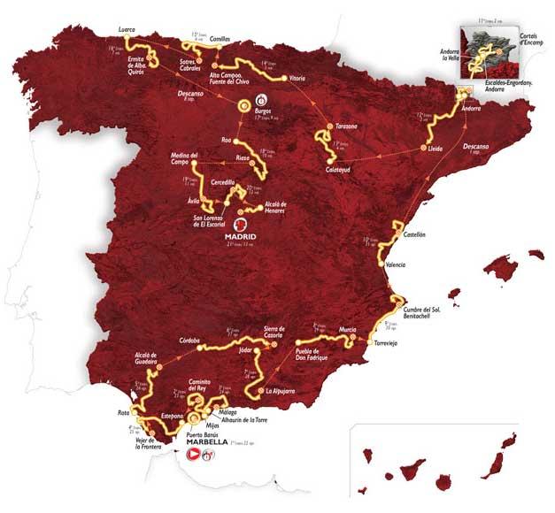 Vuelta España 2015