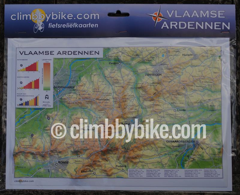 3d Map Flemish Ardennes