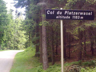 picture of the Col de Platzerwasel