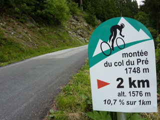 picture of the Col du Pré