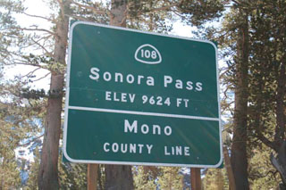 picture of the Sonora-Pass
