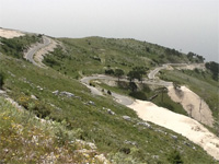 picture of the Llogara pass