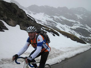 picture of the Col de lIseran