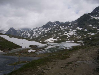 picture of the Passo Gavia