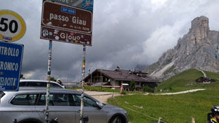 picture of the Passo Giau