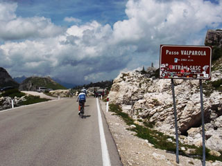picture of the Passo Valparola