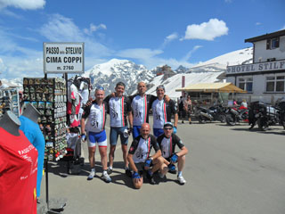 picture of the Passo dello Stelvio