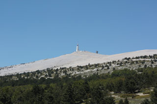 image of the Mont Ventoux