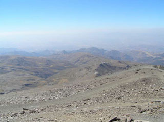 picture of the Pico de Veleta
