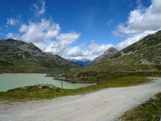 picture of the Passo del Bernina