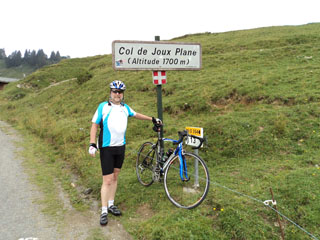 picture of the Col de Joux Plane