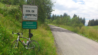 picture of the Col de lArpettaz