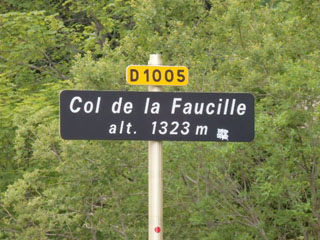 picture of the Col de la Faucille