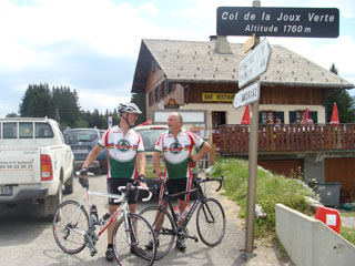 picture of the Col de la Joux Verte
