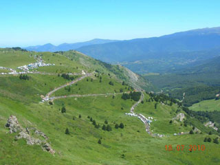 picture of the Col de Pailhères