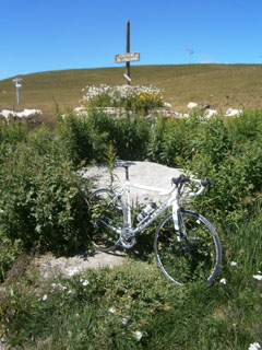 picture of the Col de Poutran