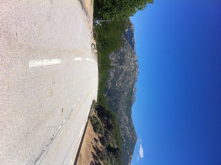 climb the Col de Sevi