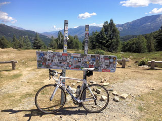 picture of the Col de Vergio